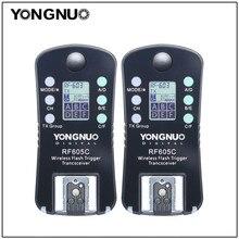 Yongnuo 2PCS RF605 RF-605 Wireless Flash Trigger Transceiver for Nikon D7100 D5200 D5100 for Canon 650D 1000D 1100D 1000D