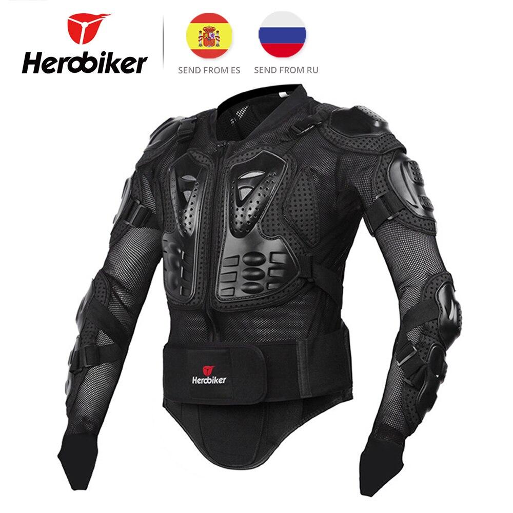 HEROBIKER Armatura Del Motociclo Equipaggiamento Protettivo Giacca Moto Body Armor Moto Da Corsa Giacca Motocross Abbigliamento Della Protezione Della Protezione