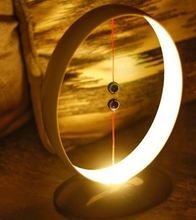 Creative intelligent LED magnetic night light creative round small table lamp magnetic switch lamp Living room USB 5V 2019 new недорого