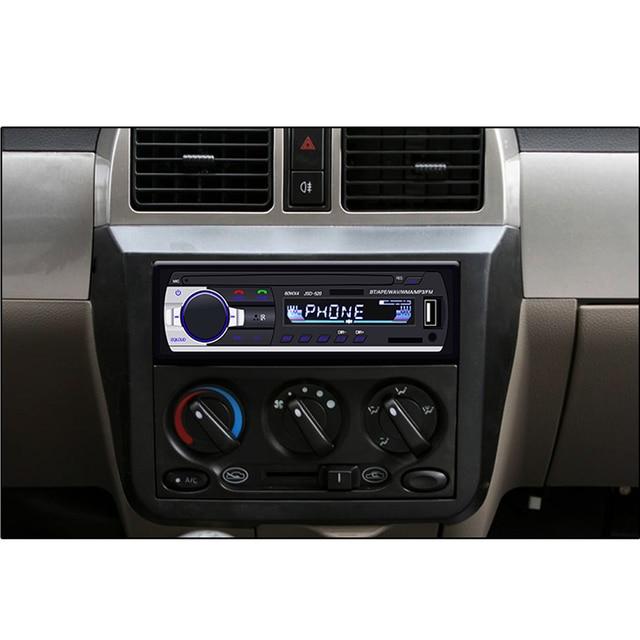 AMPrime Bluetooth Autoradio Car Stereo Radio FM Aux Input Receiver SD USB JSD-520 12V In-dash 1 din Car MP3 Multimedia Player 4