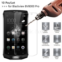 10 Pcs/Lot 2.5D 9H Premium Tempered Glass For Blackview BV8000 Pro Screen Protector protective film For Blackview BV8000 Pro