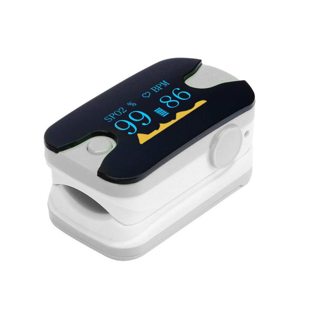 T2N2 Health Care Portable OLED Fingertip Pulse Oximeter Blood Oxygen SPO2 Saturation Heart Rate PR Monitor CE Approved