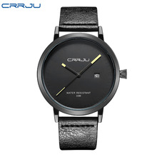 2016 CRRJU Men Watches Luxury Brand Casual Men Watches Analog Military Sports Watch Quartz Male Wristwatches Relogio Masculino