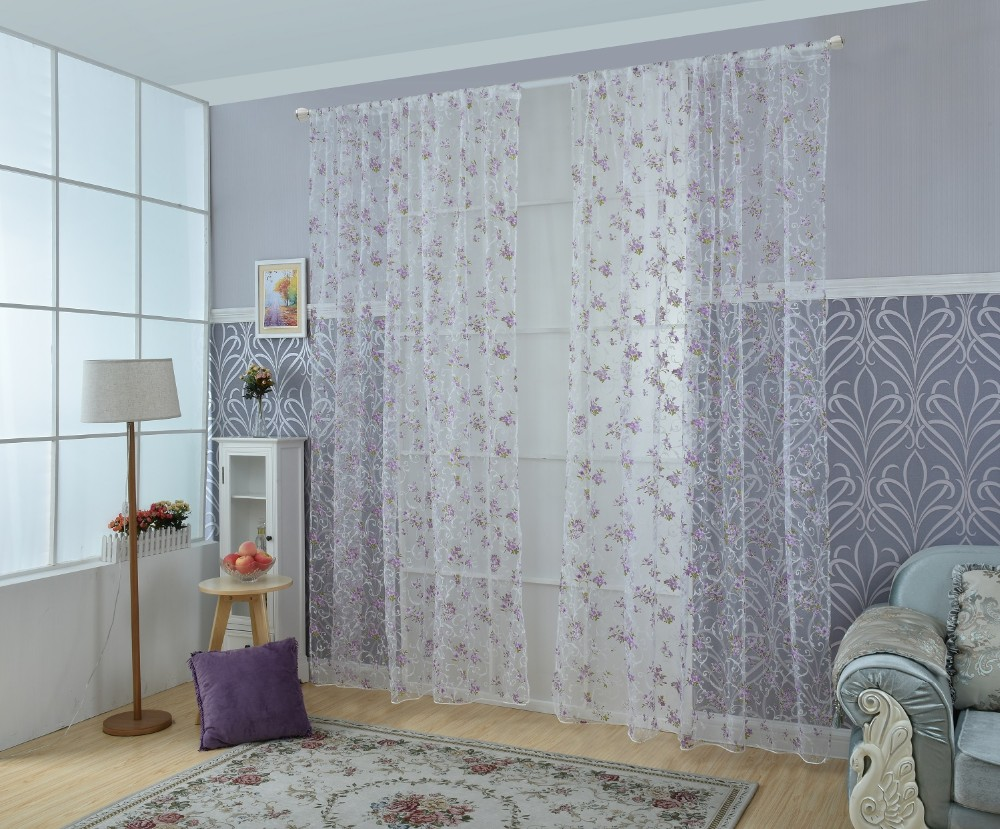 purple tulle curtain (1)