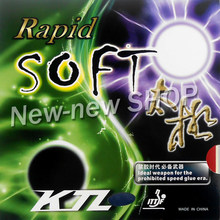 KTL Rapid SOFT Pips-In Table Tennis PingPong Rubber with Sponge(China)