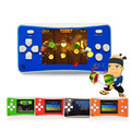 Consolas de jogos portáteis de alta qualidade mini handheld video game crianças presentes clássico Contra/plants vs zombies jogo