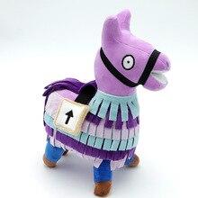 20cm PBUG Game Troll Stash Llama Plush Regular Soft Big-eyed Stuffed Animal Collection Doll Toy