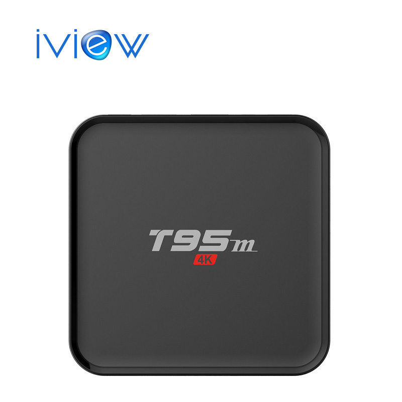 T95M Android Tv Box 1 GB/8 GB Construido en 2.4G 5G WiFi Amlogic S905 KODI 16.0