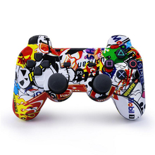 For PS3 Controller Bluetooth Handle Gamepad Joystick Sony Playstation 3 PC SIXAXIS Controle Camouflage personality