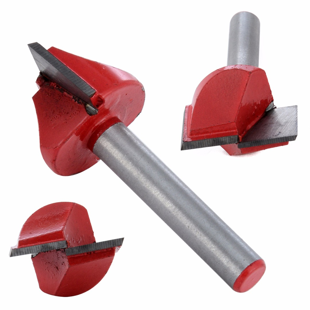 New 1/4 Router CNC Engraving Woodworking V Groove Bottom Cleaning Bit For Power Tool 6x22mm high grade carbide alloy 1 2 shank 2 1 4 dia bottom cleaning router bit woodworking milling cutter for mdf wood 55mm mayitr
