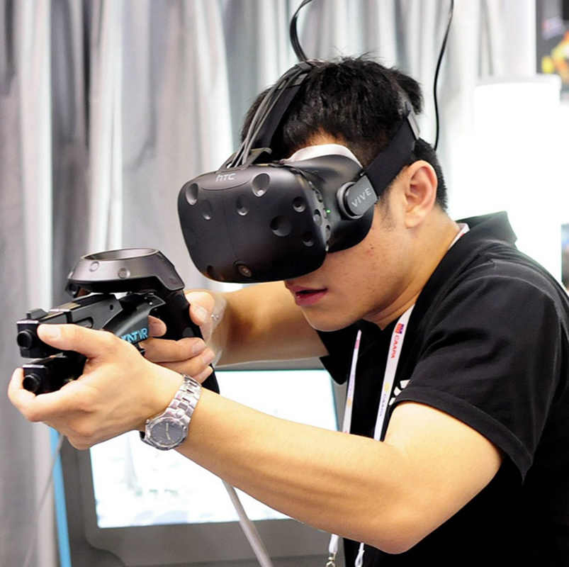 VR пистолет для htc Vive VR PRO гарнитура очки VR опыт магазин ручка контроллер чехол VR пистолет маленький пистолет стрельба игры