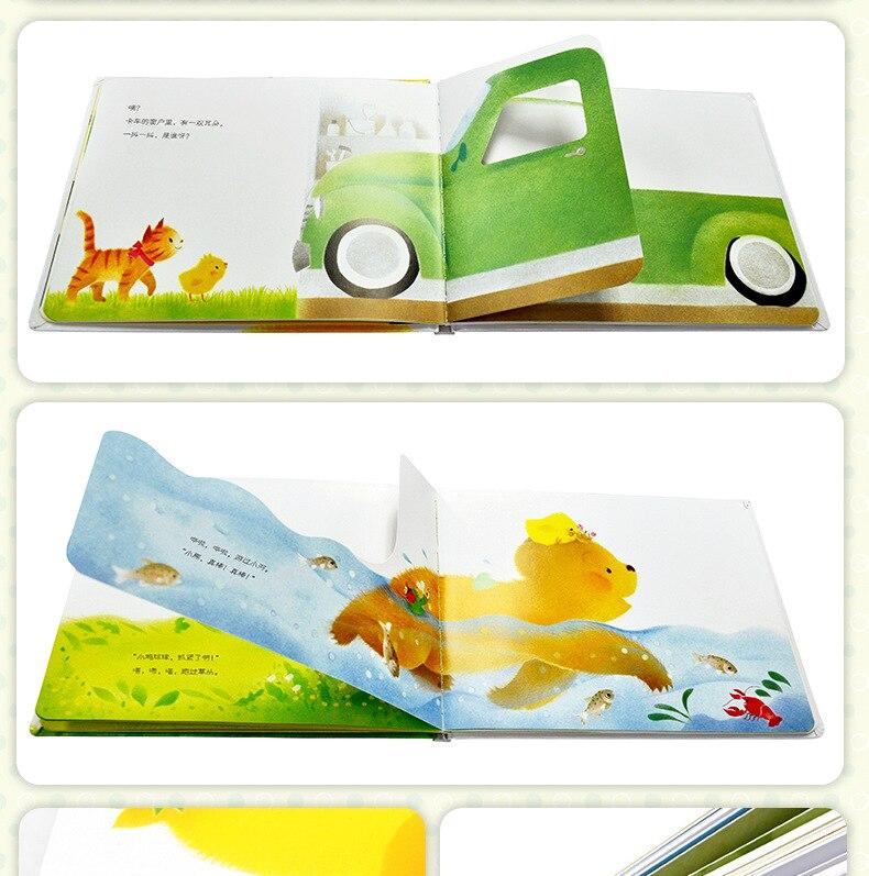 Crescimento Educacional 3D Flap Livros Ilustrados para