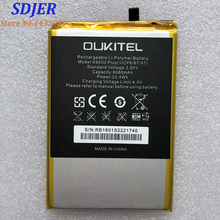 100% новый OUKITEL K6000 плюс замена 6068 mAh Запчасти батарея резервного копирования для OUKITEL K6000 плюс смартфон