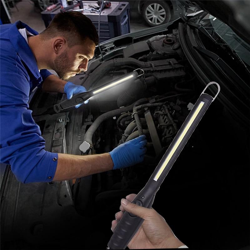 Usb Cob Led Magnetic Work Light Car Garage Mechanic Home: Aliexpress.com : Buy Portable 5W COB Flashlight Torch USB