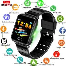2019 New Sport Fitness Tracker Pedometer Smart Bracelet Heart Rate Blood Pressure Monitor Metal Stainless Steel sport Band