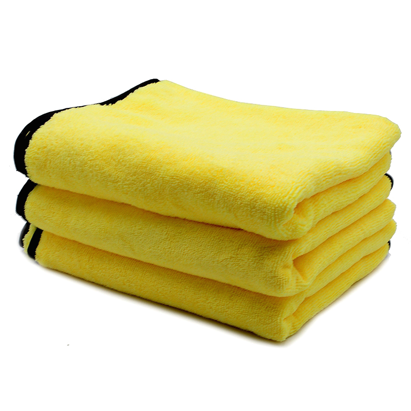 Car Cleaning Towel Washing Cloth Rag Dry Microfiber Ultra Absorbent Soft 3pcs Cleaning Towels & Cloths