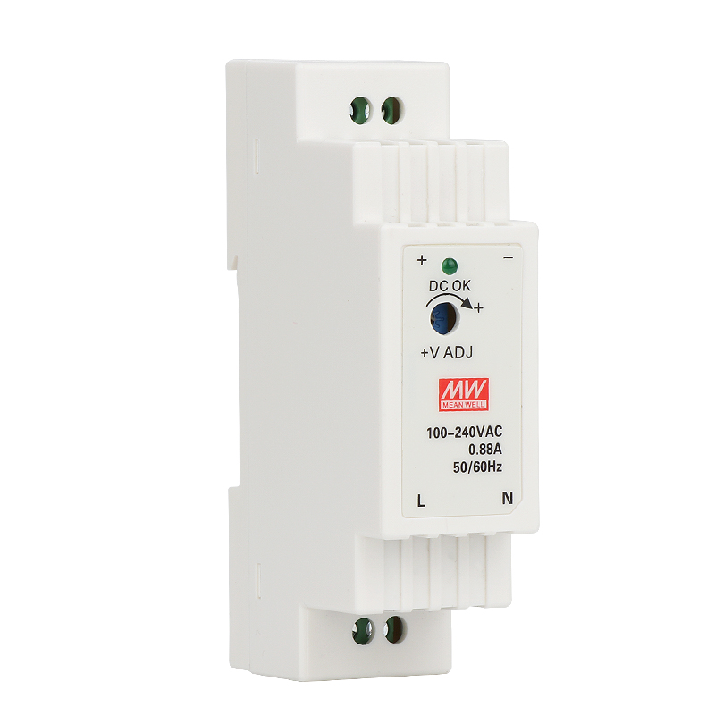 DR-15 15W Single Output 5V 12V 15V <font><b>24V</b></font> Din Rail Switching <font><b>Power</b></font> <font><b>Supply</b></font> image