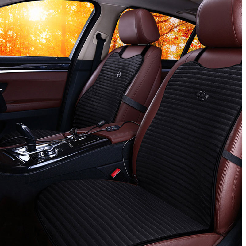 Upgraded Heated Car Seats Seat Heating Heated Case Cushion Pad Universal For Cars 1pc