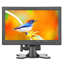 10.1 Inch Small Portable Laptop Computer Monitor With Hdmi Vga Port; Raspberry Pi Display Screen Monitor,Hd 1024x600 - Build W(China)