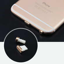 Charging port dust plug + 3.5mm earphone port dust plug