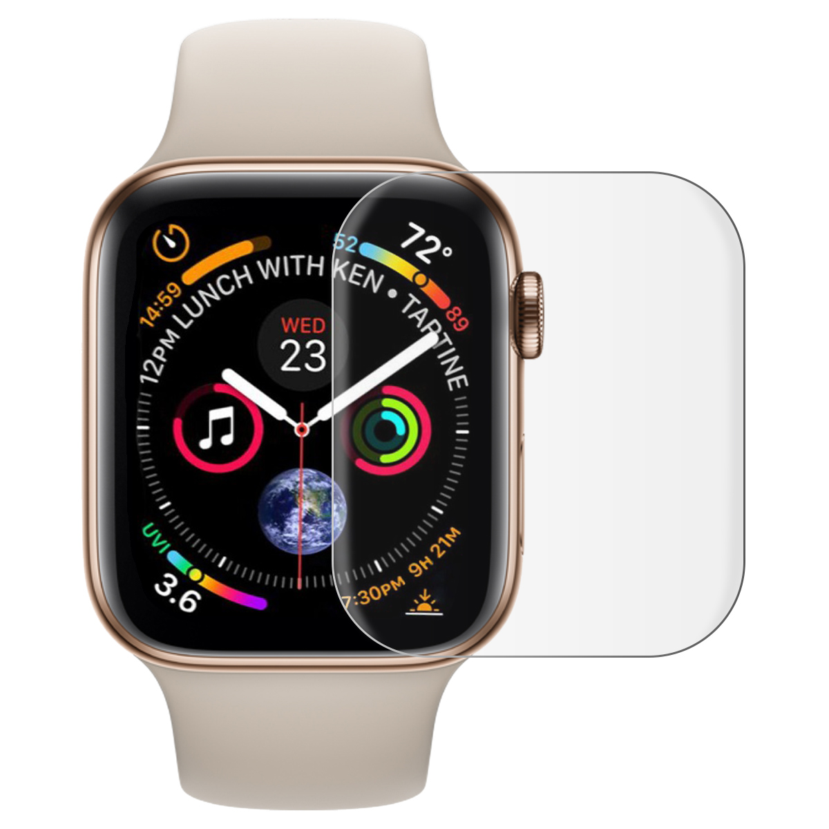 9H Ultra Thin Tempered Glass For Apple Watch Series 1 2 3 4 Screen Protector Protective Film For Iwatch 44mm 40mm 38mm 42 Mm
