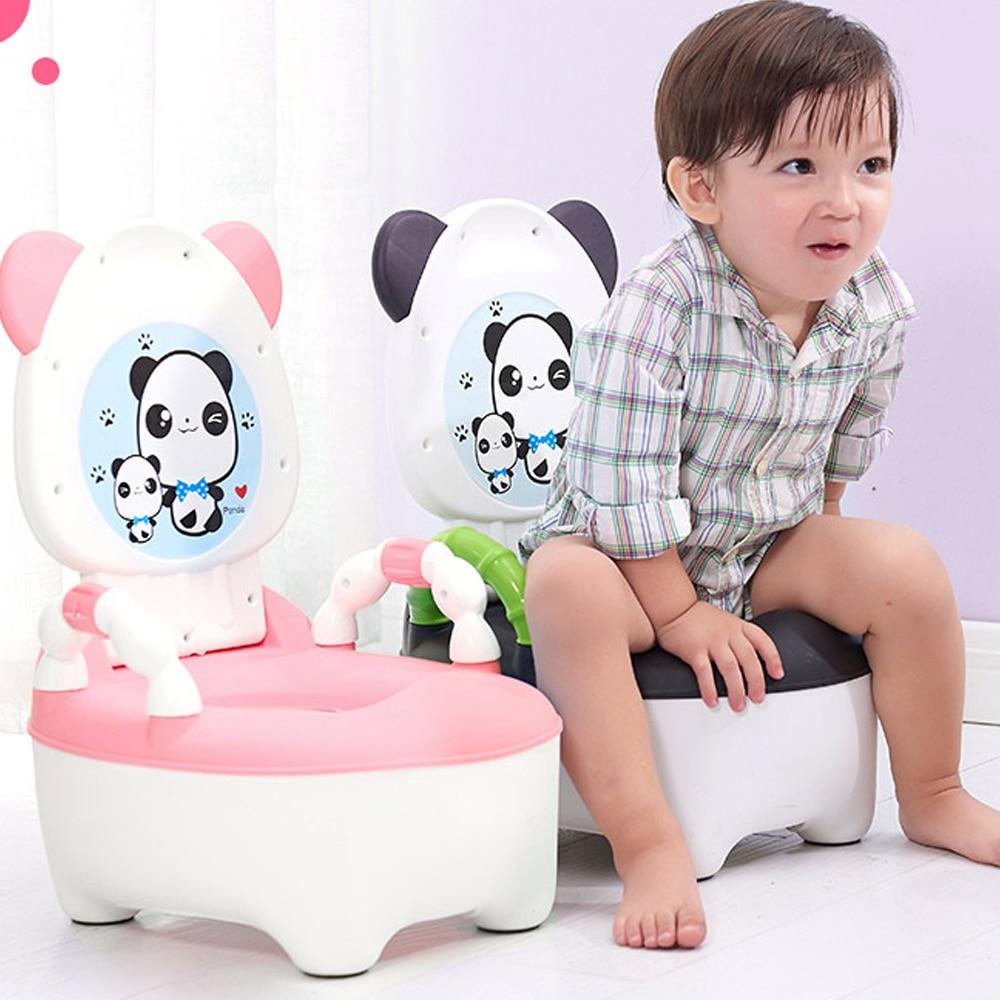Portable Cartoon Potty Baby Potty Toilet For Babies Child Pot Training Potty For Kids Chair Toilet Seat Bowl Children's Pot