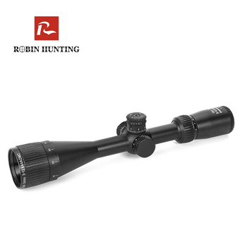 Robin hunting 3-12x44 AOMC Tactical Optic Riflescope Air Gun Rifle Scope Red Green Blue Illuminated Reticle Sight Scopes