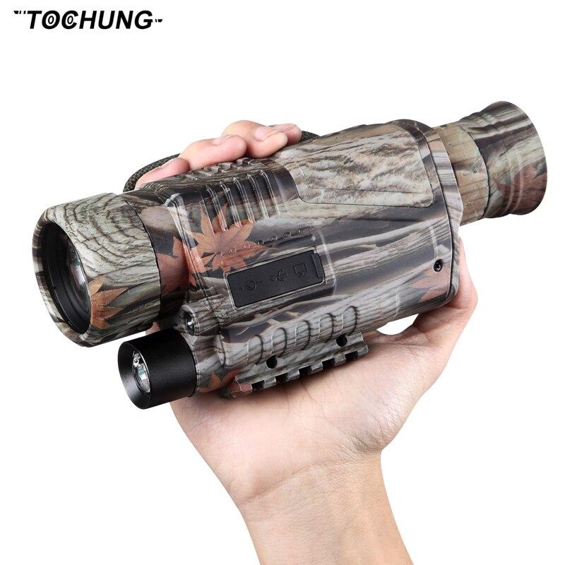 Binoculares de visión nocturna infrarroja de alta calidad, cámara de visión nocturna, visión nocturna gen3 térmica para caza camuflaje/negro
