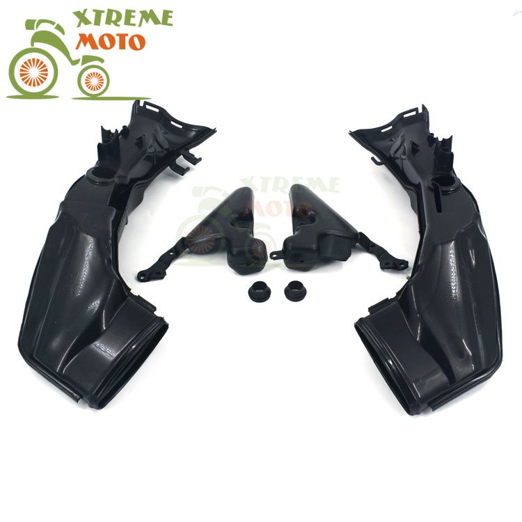 Motorcycle Air Intake Tube Duct Cover Fairing For HONDA CBR1000RR 2008-2011 2008 2009 2010 2011 08 09 10 11 arashi motorcycle radiator grille protective cover grill guard protector for 2008 2009 2010 2011 honda cbr1000rr cbr 1000 rr