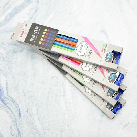 caixas de lapis simples de quatro cor escola estudante 5 primeiro classe de protecao ambiental