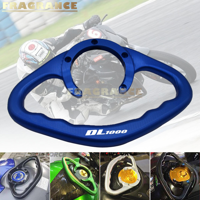 Agarradero de pasajero para motocicleta, agarre manual, manijas de barra de agarre para SUZUKI DL1000D L650 v-strom DL650XT v-strom