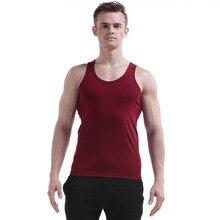 f31563fcd7149 New WJ Men s Mesh Tank Tops Round O Neck Sleeveless Spaghetti Strap Muscle  cotton Undershirt Summert