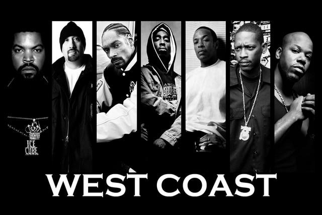 Gangsta rap rapper hip hop music rw055 room living room home wall art decor wood frame