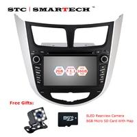 SMARTECH 2 Din Android 7 1 2 Car Dvd Player Gps For Hyundai Solaris Accent Verna