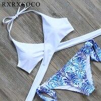 Hot Triangle Swimwear Bandage Bikini 2015 Sexy Beach Swimwear Women Swimsuit Bathing Suit Brazilian Bikini Set
