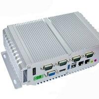 Промышленный компьютер 4G памяти 64G SSD No Monitor Экран Intel celeron j1900 Intel Производитель процессора мини ПК Intel