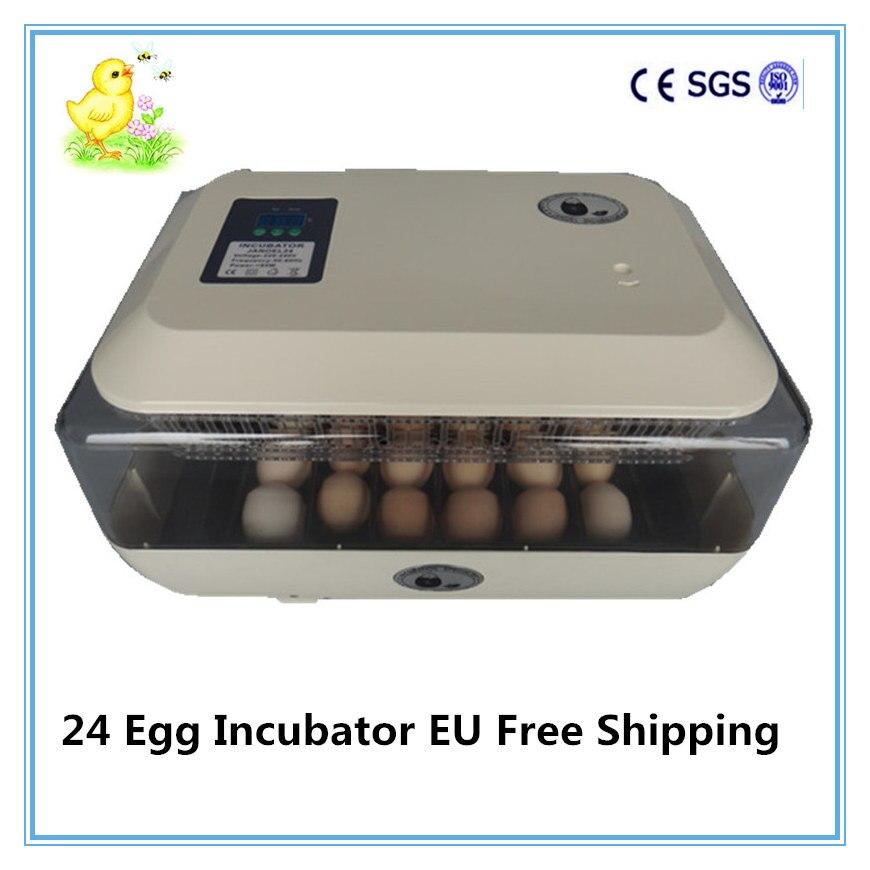 Mini Full automatic egg Incubator Chicken Duck Goose Quail egg Incubator