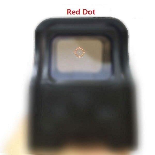 Prix pour 551_0 holographique Vue Red Dot Optique Sight Reflex Sight Pour Fusil de Chasse avec 20mm Rail Supports pour Airsoft (552_0, 553_0)