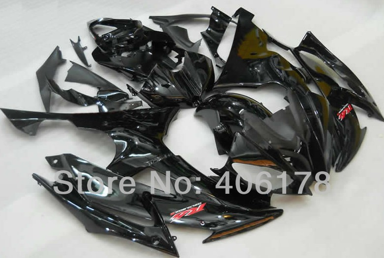 Hot Sales,Yzf600 R6 08-14 Fairing fit for Yamaha Yzf R6 2008 2009 2010 2011 2012 2013 2014 Black Fairing (Injection molding) head lamp headlight fit yamaha yzf r6 yzf r6 2008 2009 2010 2011 2012 2013 2014 2015