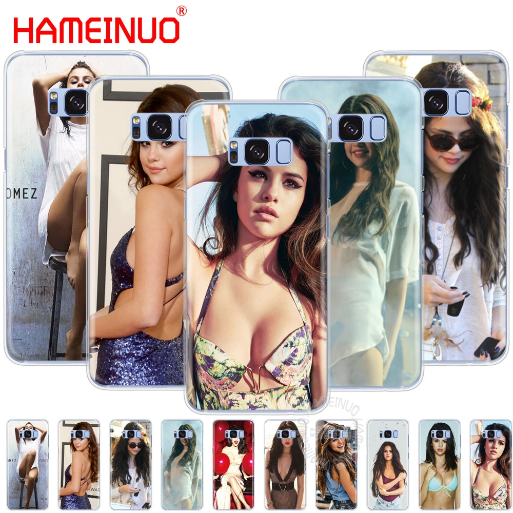 HAMEINUO Selena Gomez cell phone case cover for Samsung Galaxy E5 E7 Note 3,4,5 8 ON5 ON ...