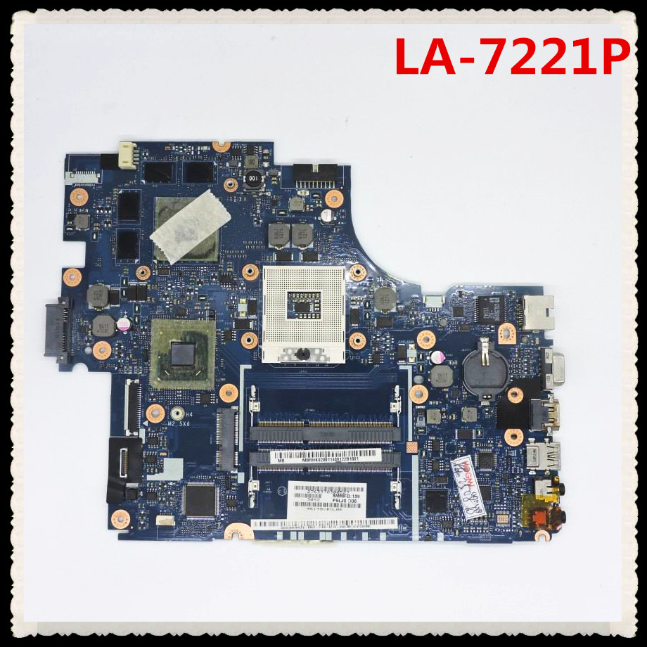 For Acer aspire 5830 5830T Laptop motherboard P5LJ0 LA-7221P MBBUV02001 PGA989 HM65 With graphic card full test nokotion la 7221p mbrhj02001 mb rhj02 001 main board for acer aspire 5830 5830t laptop motherboard hm65 ddr3 geforce gt540m gpu