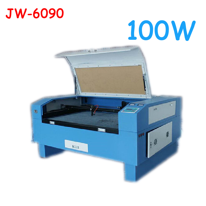 Version JW-6090 Laser Co2 100 W hors CNC Laser Machine Laser gravure Machine découpe machine gravure vitesse 0-60000 mm/min
