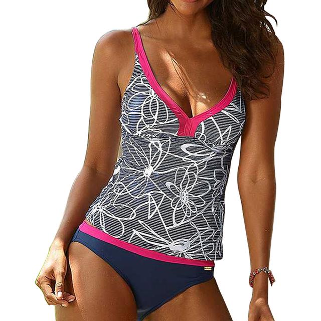 Minimalism Le Plus Size Brazilian Sexy Bikini Beach Wear 2017 New Patchwork Swimwear Women Swimsuit Bandage Bathing Suit BK594