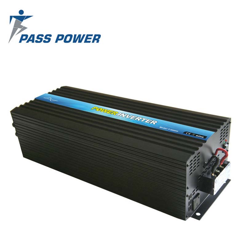 цена на High Quality CE RoHS SGS Approved Off Grid Single Phrase DC 24V 48V AC 110V 240V Pure Sine Wave Power Inverter 12 Volt 220 Volt