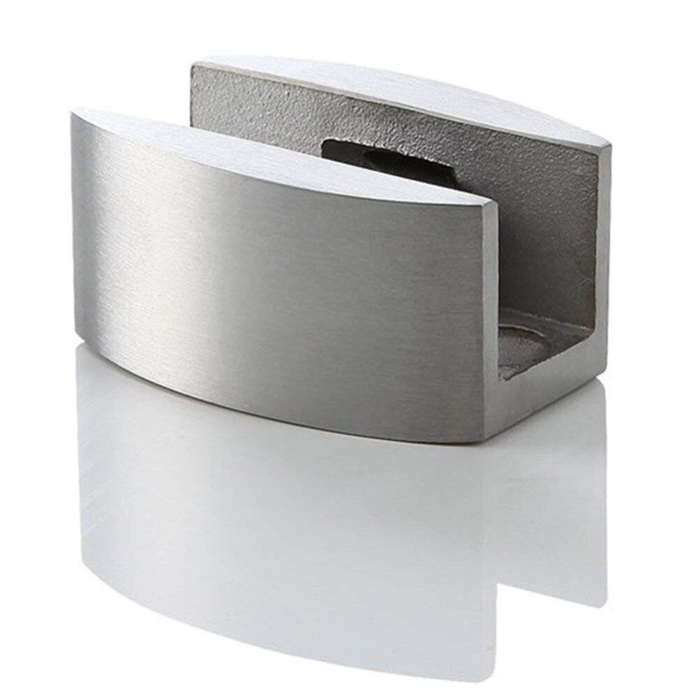 Quincaillerie de porte coulissante en verre sans cadre en acier inoxydable pour porte coulissante de douche - 6