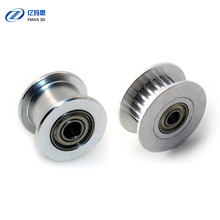 GT2 H Type Passive Synchronous Wheel 20 Tooth Teeth Aluminum Timing Drive Pulley for 3D Printer Idler Pulley Wide 6mm/10mm