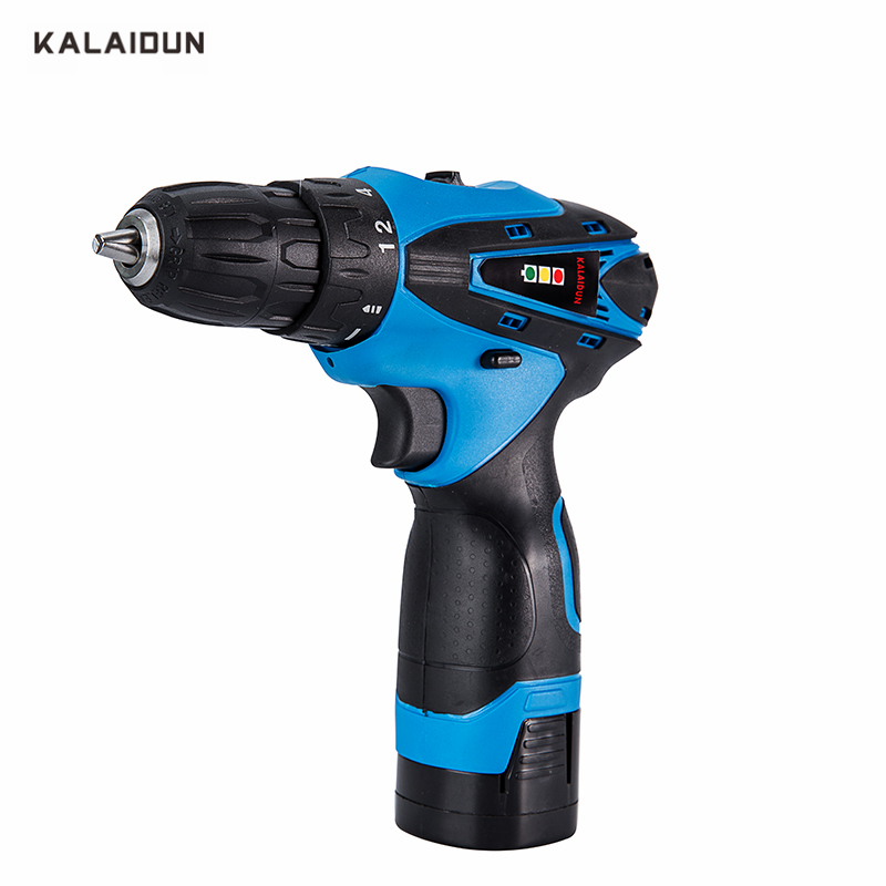 KALAIDUN 16.8V Mobile Electric Drill Power Tools Electric Screwdriver Lithium Battery Cordless Drill Mini Drill Hand Tools аккумуляторная дрель шуруповерт bort bab 12n 7 p