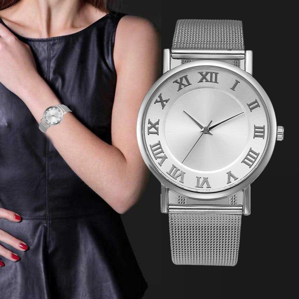 Wrist Bracelets 2018 Fashion Stainless Steel Wristwatch