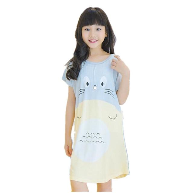 Kinder mädchen pyjamas sommer kinder mädchen cartoon \'nightwear ...