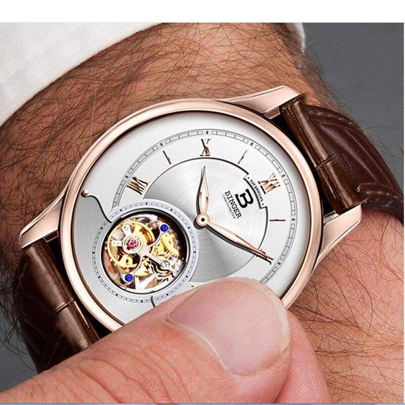 Relógios de pulso automáticos para homens, de